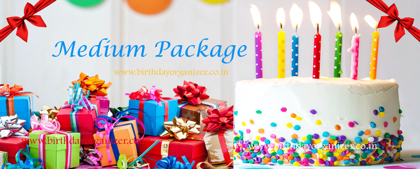 Medium Package Birthday Party Decoration in noida, birthday party balloon decoration in noida delhi ncr, birthday party planner, birthday party ideas in noida delhi ncr