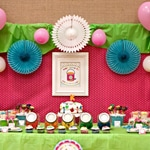 Art & craft in birthday party |