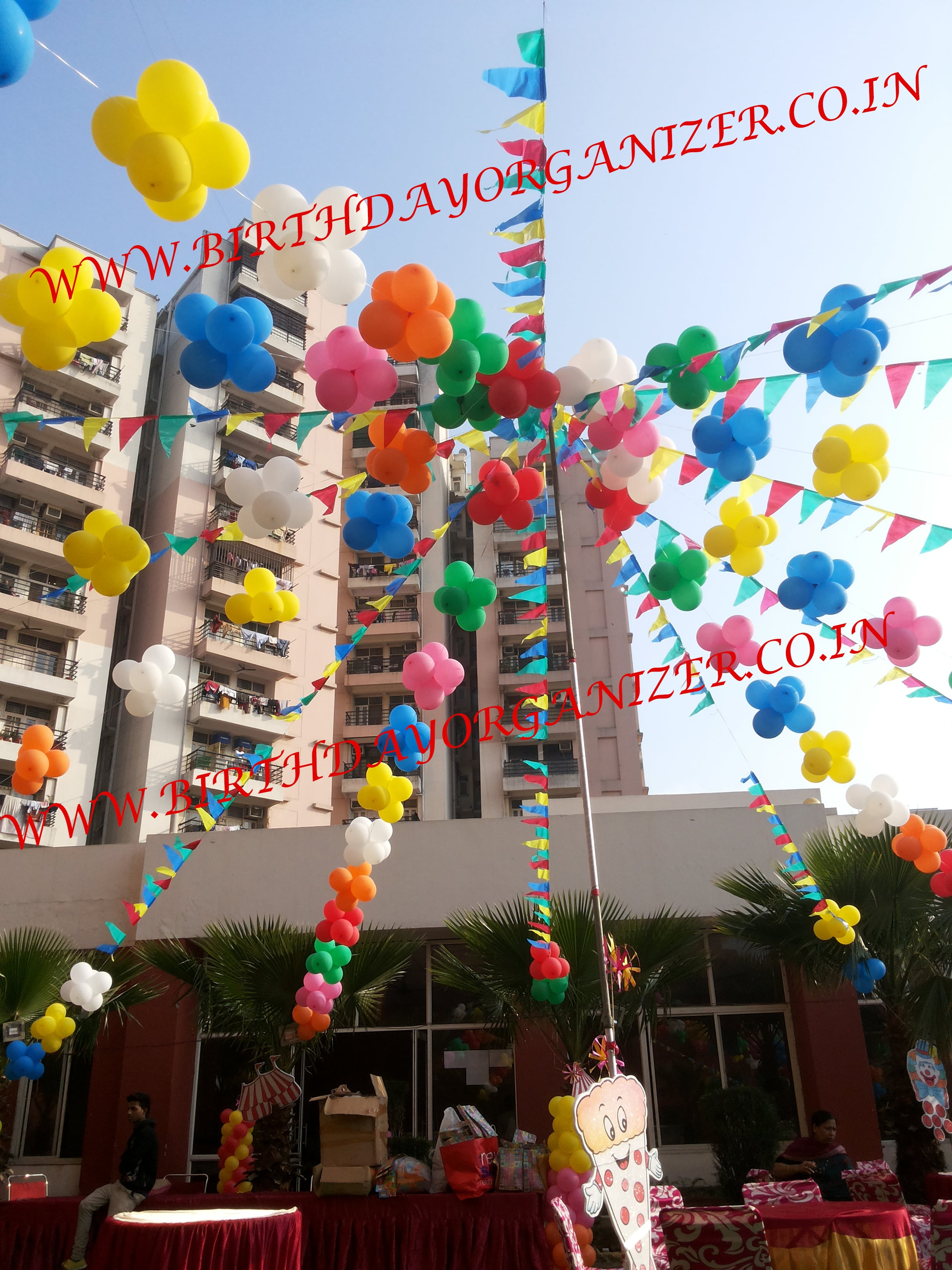 balloon decoration ideas at home in delhi ncr, balloon decoration ideas in gurgaon, balloon decoration planner in noida delhi ncr gurgaon, balloon decoration birthday organizer in noida delhi ncr gurgaon
