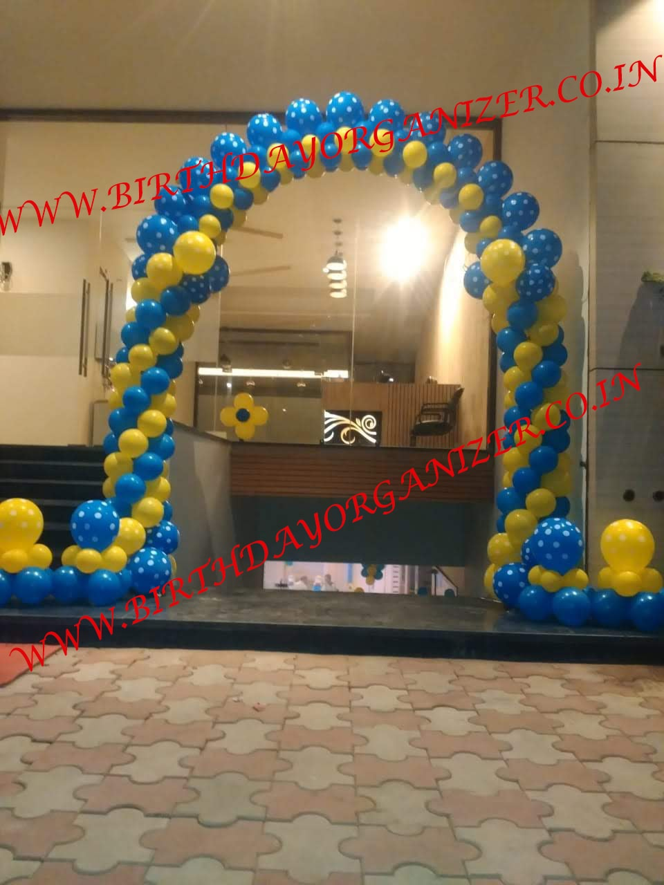 birthday party balloon decoration with paper craft , paper craft decoration for birthday party in noida delhi ncr, paper craft decoration for kids birthday party in delhi noida ncr