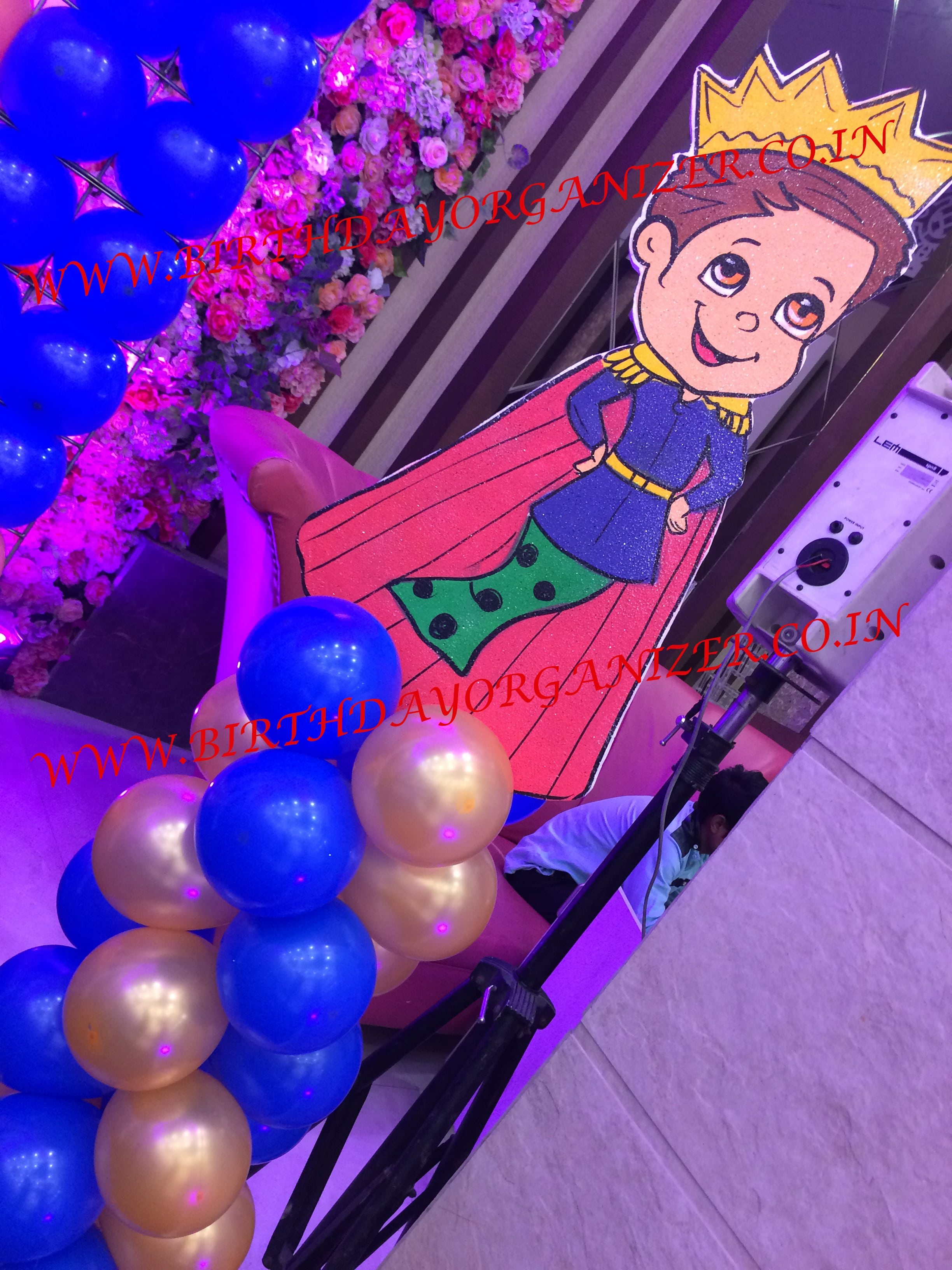 prince theme party planner in noida delhi ncr gurgaon, prince theme party ideas in noida delhi ncr gurgaon,
