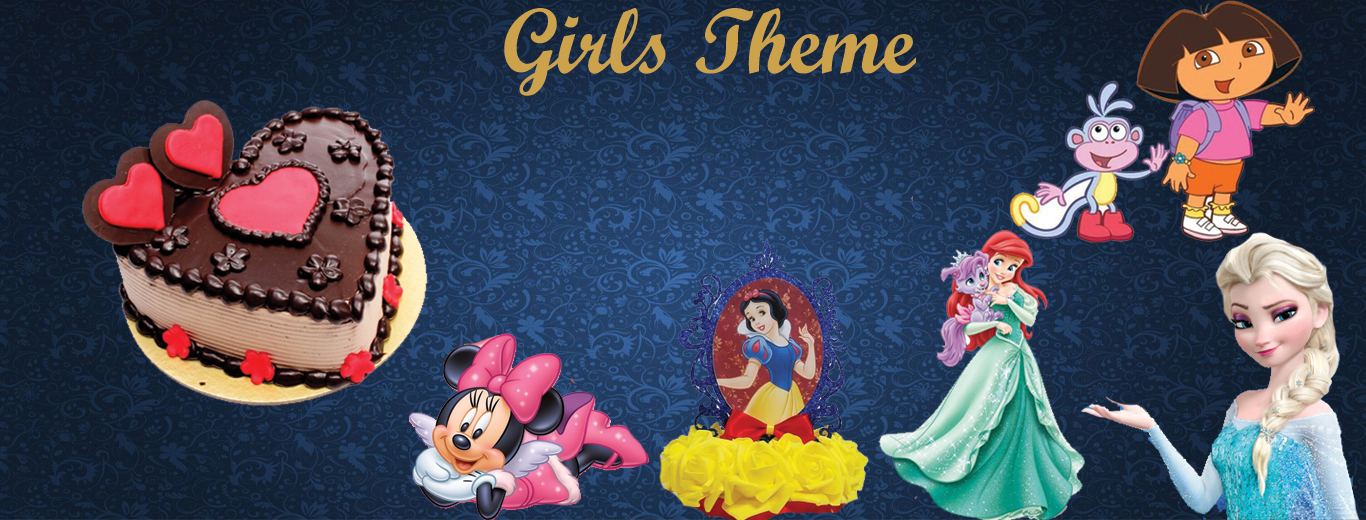 Girls theme birthday party decoration in noida , Girls theme birthday party organizer in Delhi, Girls theme birthday party planner in noida, Girls theme birthday party ideas in Delhi, birthday party decoration in home