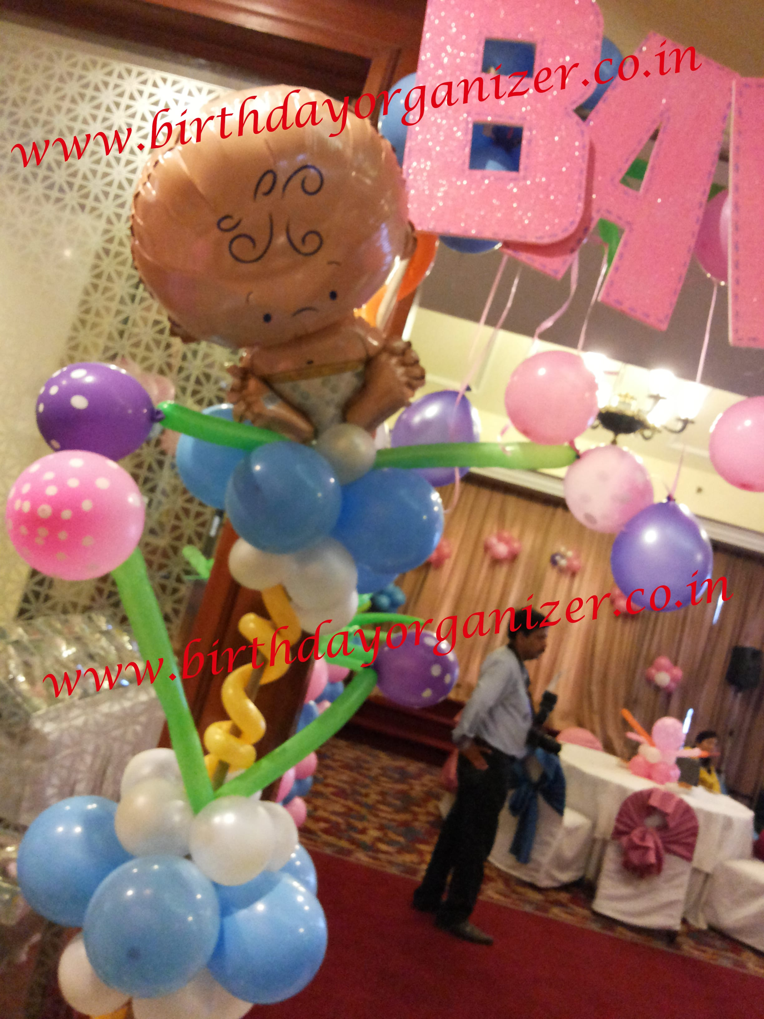 Baby shower birthday party organizer in noida, Baby shower birthday party planner in noida, Baby shower birthday party decoration in noida