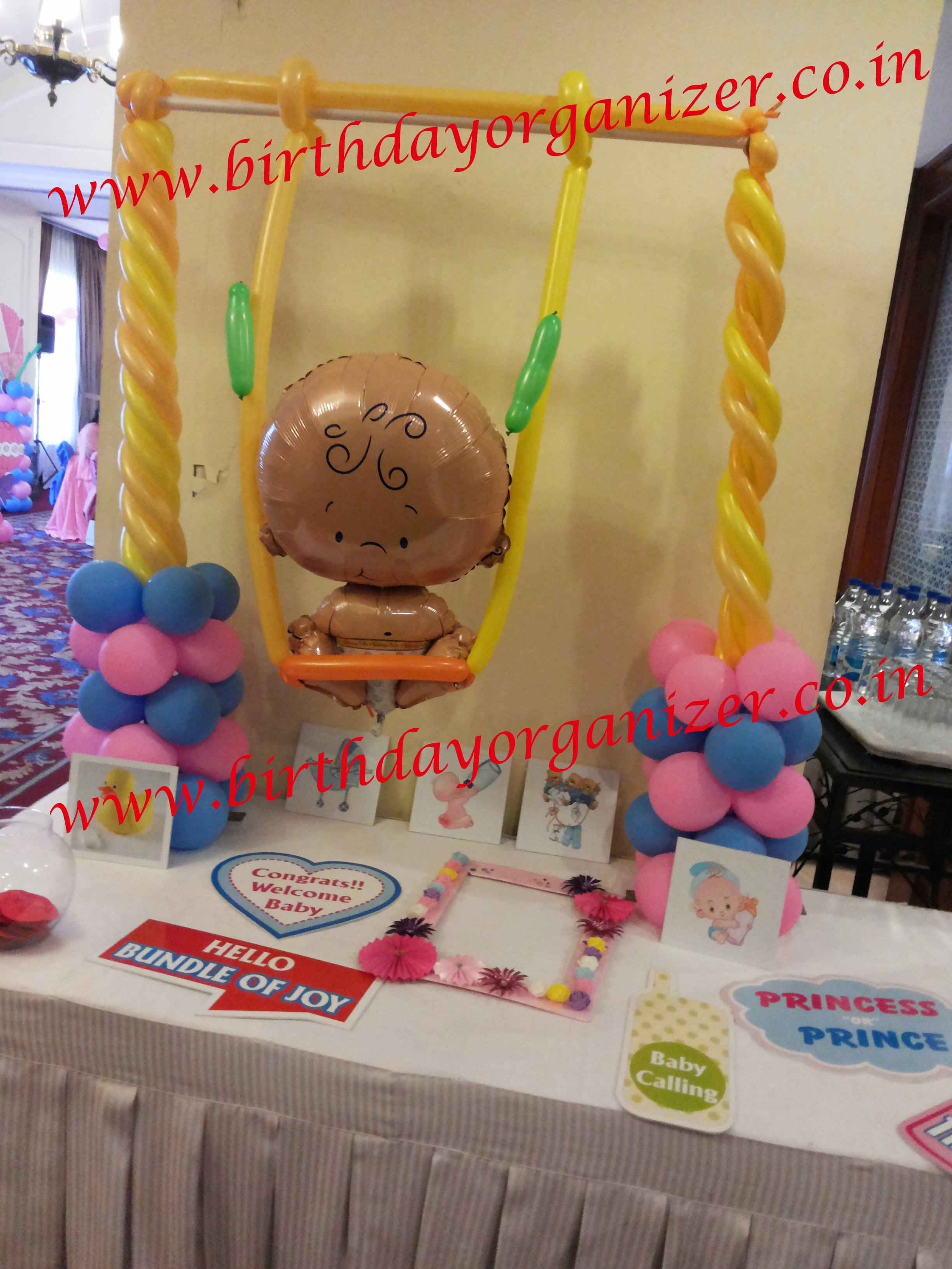 Baby shower cake table decoration in noida, Baby shower cake table decoration in delhi ncr, Baby shower cake table decoration in gurgaon