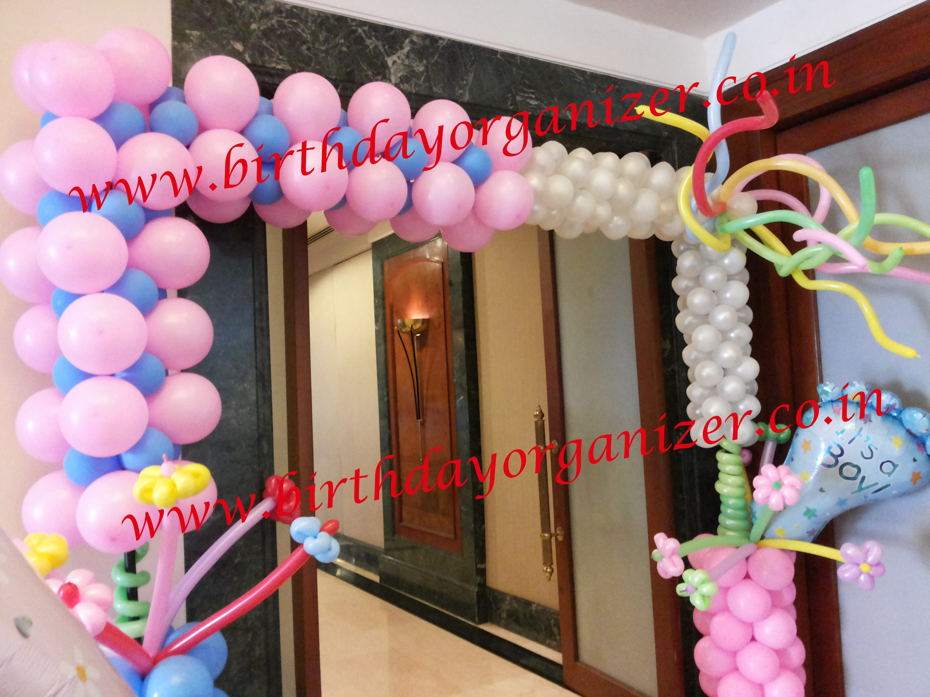 Baby shower entrance decoration in delhi , Baby shower entrance decoration in noida ncr, Baby shower entrance decoration ideas in delhi